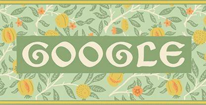 H Google τιμά τον διάσημο σχεδιαστή υφασμάτων, καλλιτέχνη και συγγραφέα William Morris