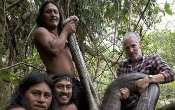 Γιγάντιο ανακόντα καταγράφηκε στη Ζούγκλα του Εκουαδόρ