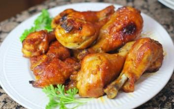Καραμελωμένα μπουτάκια κοτόπουλου