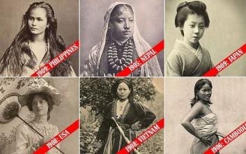 Ποιες γυναίκες θεωρούνταν σέξι το 1900