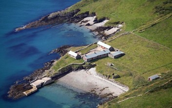 Δύο εκατομμύρια ευρώ για νησί ανοιχτά της Ιρλανδίας