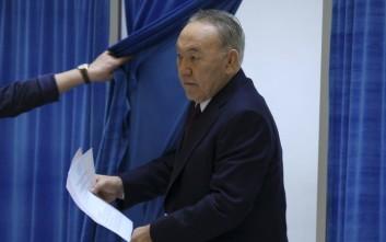 Παραιτήθηκε ο πρόεδρος του Καζακστάν μετά από τρεις δεκαετίες στην εξουσία