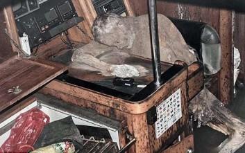 Για μία εβδομάδα ήταν νεκρός ο Γερμανός που βρέθηκε μουμιοποιημένος στο σκάφος του