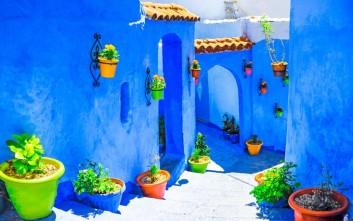 Η ιδιαίτερη μπλε πόλη του Μαρόκου