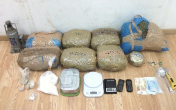 Με 9 κιλά κάνναβη συνελήφθη διακινητής στην Κυψέλη