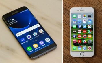 Η μπαταρία του Samsung Galaxy S7 απέναντι στο iPhone 6s
