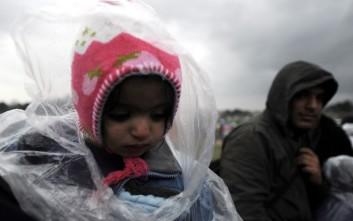 Πρόσφυγες εγκαταλείφθηκαν από διακινητές στο χιονισμένο Σέιχ Σου