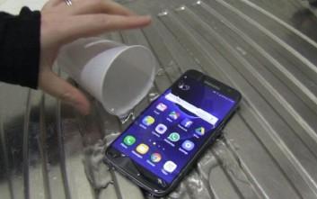 Πόσο αδιάβροχο είναι τελικά το Samsung Galaxy S7
