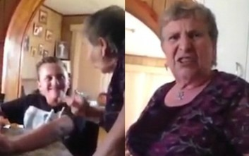 Η αντίδραση της γιαγιάς στον εγγονό που θέλει τατουάζ