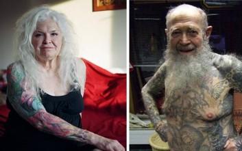 Πώς φαίνονται τα τατουάζ σε γερασμένα σώματα