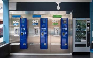 Οι αυτόματοι πωλητές γάλακτος έδωσαν 20.000 λίτρα σε τρεις μέρες