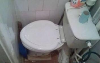 Κάτι δεν πάει καλά με αυτές τις τουαλέτες
