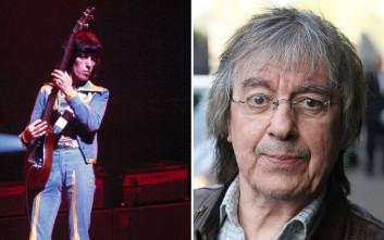 Με καρκίνο διαγνώσθηκε ο πρώην μπασίστας των Rolling Stones