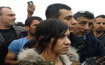 Στα Διαβατά η γυναίκα-σύμβολο στον αγώνα κατά του ISIS