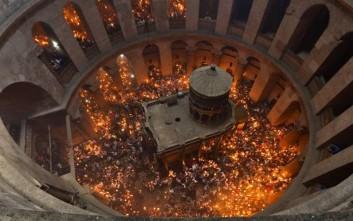 Αύριο στα Ιεροσόλυμα η ελληνική αντιπροσωπεία για το Άγιο Φως