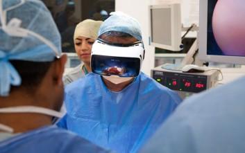 Χειρουργική επέμβαση σε ζωντανή μετάδοση