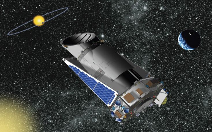 Βλάβη στο διαστημικό τηλεσκόπιο «Κέπλερ»