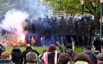 Σοβαρά επεισόδια στη Γαλλία για το αμφιλεγόμενο νομοσχέδιο για τα εργασιακά
