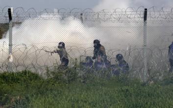 ΑΝΕΛ: Αποτρόπαια και αντιανθρωπιστική η συμπεριφορά των Σκοπιανών έναντι προσφύγων