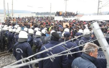 Συναγερμός για τη διακίνηση νέων φυλλαδίων στην Ειδομένη