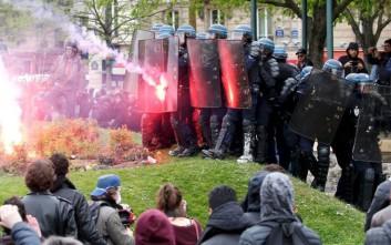 Άγριες συγκρούσεις στο Παρίσι