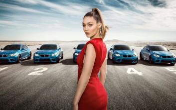 Η Gigi Hadid πρωταγωνιστεί στη νέα καμπάνια της BMW M2 Coupe