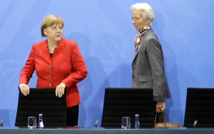 Μέρκελ και Λαγκάρντ λύνουν τις διαφορές τους για την Ελλάδα