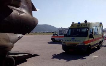 Aεροδιακομιδή 49χρονου από την Κάρπαθο στο Ηράκλειο