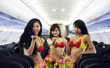 Οι παράξενες υπηρεσίες που έχουν προσφέρει αεροπορικές εταιρείες
