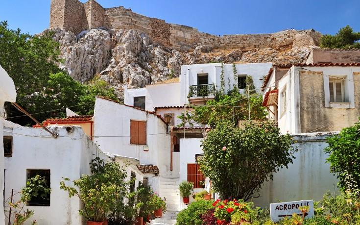 Αναφιώτικα, η νησιώτικη γωνιά της Αθήνας