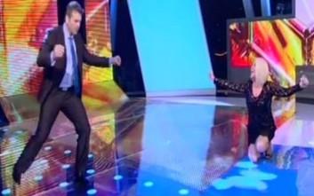 Το βαρύ ζεϊμπέκικο του Απόστολου Γκλέτσου στην εκπομπή της Κορομηλά