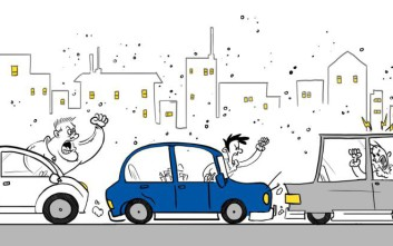 Η επιθετική συμπεριφορά στην οδήγηση μπορεί να μεταδοθεί σε άλλους οδηγούς