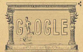 Η Google τιμά τους πρώτους σύγχρονους Ολυμπιακούς Αγώνες