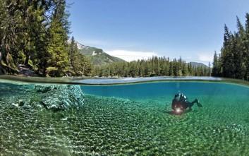 Η λίμνη της Αυστρίας που σχηματίζεται μόνο το καλοκαίρι