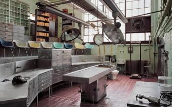 Φωτογραφίες από εγκαταλελειμμένα ψυχιατρεία