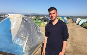Ξέφυγε από τον ISIS, πέρασε μια «οδύσσεια», «κόλλησε» στην Ειδομένη