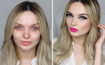 Η δύναμη του μακιγιάζ και το μήνυμα της 26χρονης blogger