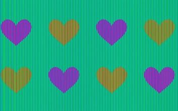 Τι χρώμα έχουν οι καρδιές