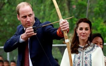 Ο πρίγκιπας έγινε και… τοξοβόλος