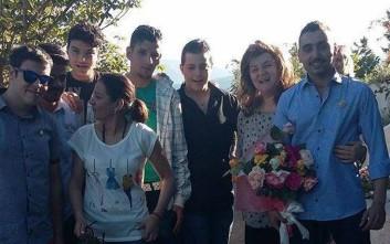 Η γνωριμία και η πρόταση γάμου σε καταυλισμό προσφύγων στην Κοζάνη