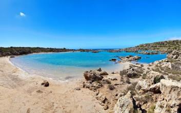Η «Άσπρη Λίμνη» της Κρήτης