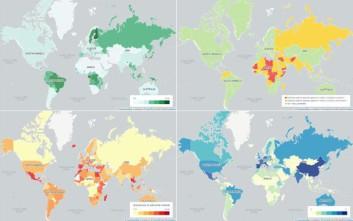 Οι χάρτες που δείχνουν διαφορετικά τον κόσμο