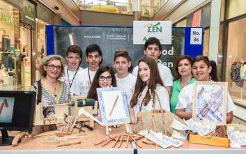 «Επιχειρηματίες» μόλις 15 ετών εντυπωσίασαν με τις δημιουργίες τους