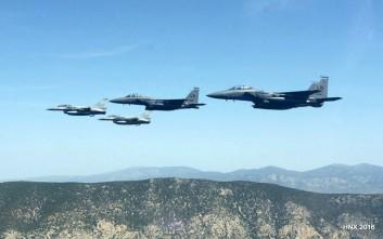 Ελληνικά μαχητικά πάνω από τα Σκόπια