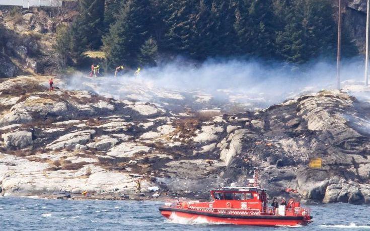 Νεκροί όλοι οι επιβαίνοντες στο μοιραίο ελικόπτερο στη Νορβηγία