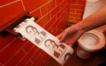 Το θεματικό «Καφέ του Προέδρου» Πούτιν που έχει χαρτί υγείας με τον... Ομπάμα