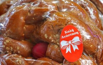 Πάσχα 2019: Ως και 100.000 κιλά τσουρεκιού έχουν παρασκευαστεί από τους ζαχαροπλάστες