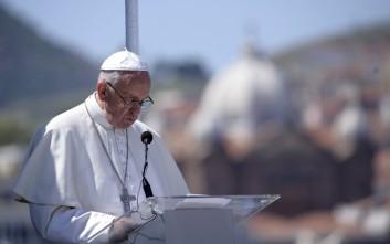 Ο Πάπας Φραγκίσκος δωρίζει 100.000 ευρώ για τους μετανάστες στη Λέσβο