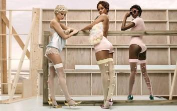 Η Rihanna με τα εσώρουχα σε παστέλ αποχρώσεις