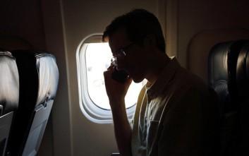Τι θα συμβεί αν δεν βάλετε σε λειτουργία πτήσης το κινητό σας στο αεροπλάνο